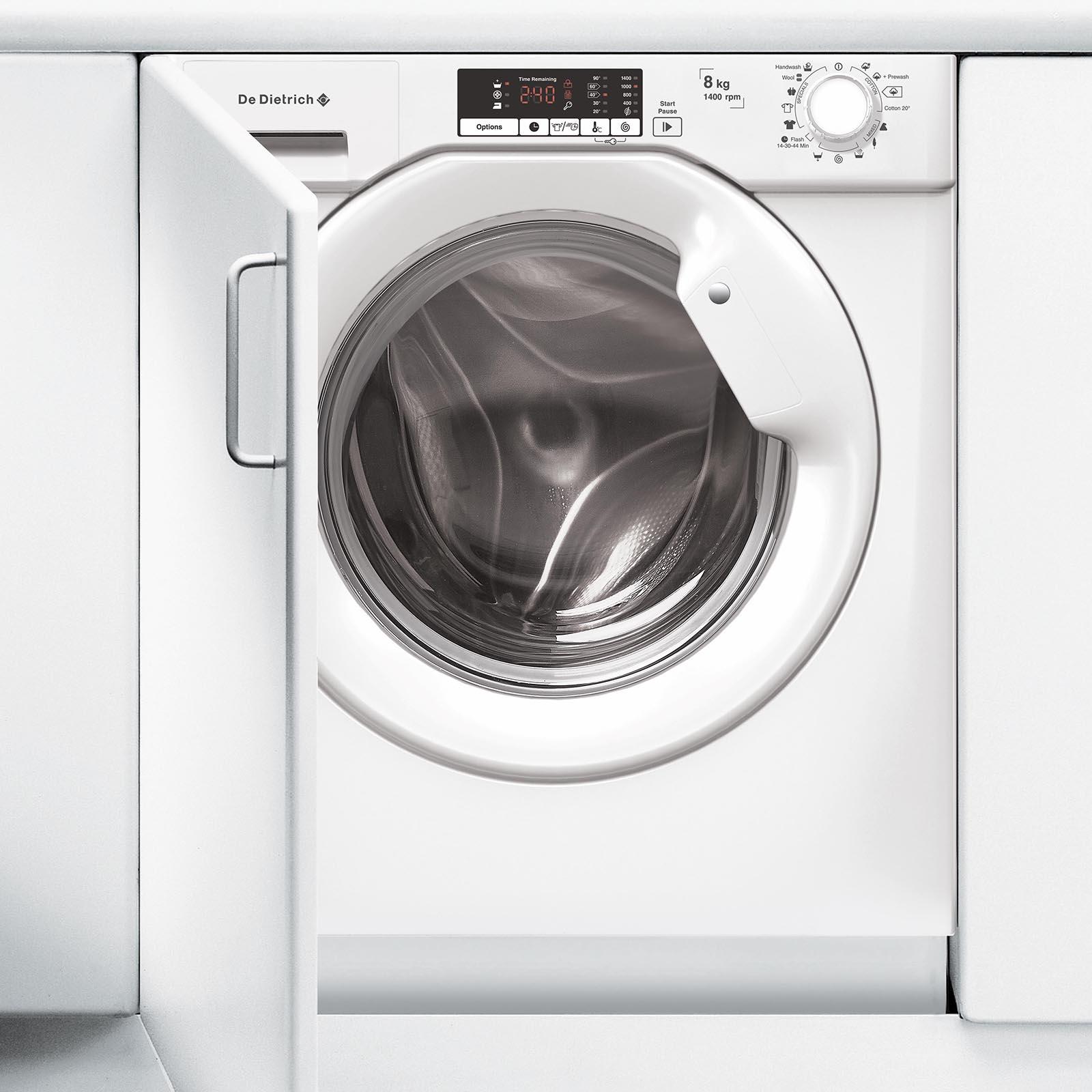 Lave Linge Couleur Gris lave-linge encastrable dlz814i - de dietrich